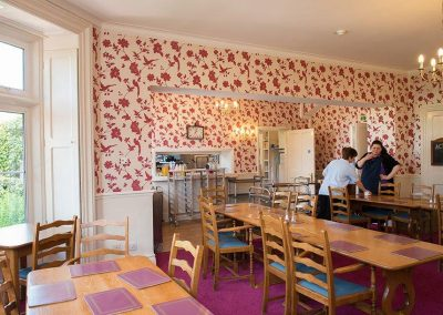 Bristol Care Homes Glebe House Almondsbury BS32 dining room