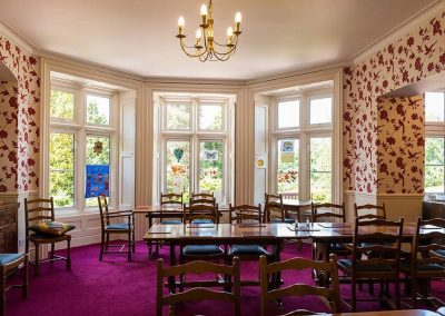 Bristol Care Homes Glebe House Almondsbury BS32 dining room 3