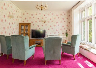 Bristol Care Homes Glebe House Almondsbury BS32 residents lounge 2