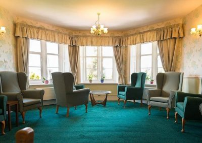 Bristol Care Homes Glebe House Almondsbury BS32 residents lounge
