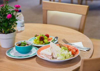Bristol Care Homes Quarry House Fishponds BS16 dining room