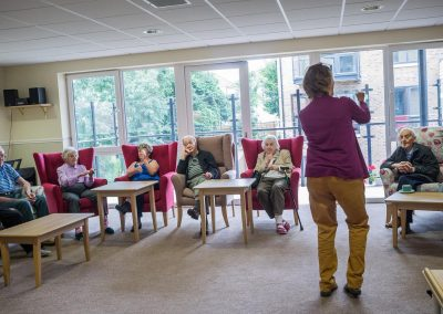 Bristol Care Homes Quarry House activities