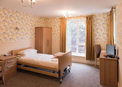 Bedroom Bristol Care Homes Quarry House Fishponds BS16