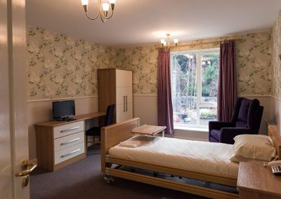 Bristol Care Homes Quarry House Fishponds BS16 bedroom