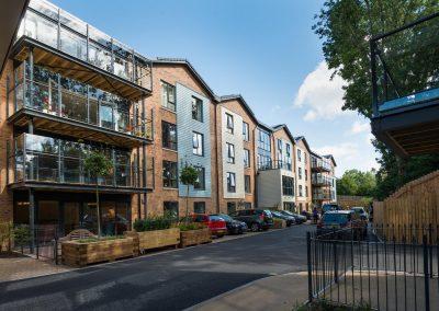 Bristol Care Homes Quarry House Fishponds BS16 balcony