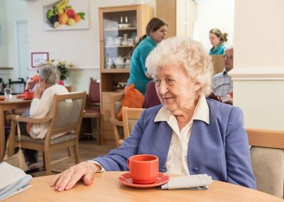 Bristol Care Homes Beech House Thornbury BS35 dining room 2