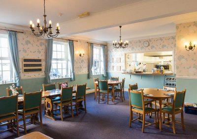 Bristol Care Homes Beech House Thornbury BS35 dining room