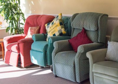 Bristol Care Homes Beech House Thornbury BS35 lounge chairs