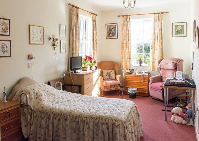 Bristol Care Homes Beech House Thornbury BS35 bedroom 3