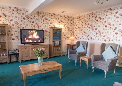 Bristol Care Homes Beech House Thornbury BS35 lounge area 2