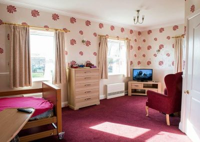 Bristol Care Homes Field House Horfield BS7 bedroom