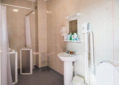 Bristol Care Homes Field House Horfield BS7 walk-in shower