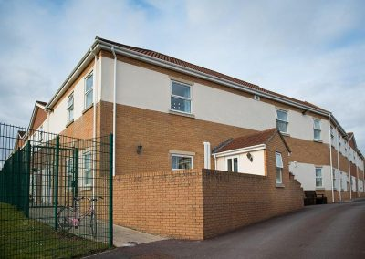 Bristol Care Homes Field House Horfield BS7 secure exterior