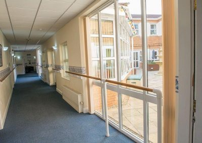 Bristol Care Homes Field House Horfield BS7 hallway 2