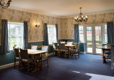 Bristol Care Homes Field House Horfield BS7 dining room