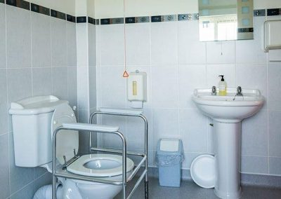 Bristol Care Homes Glebe House Almondsbury BS32 toilet